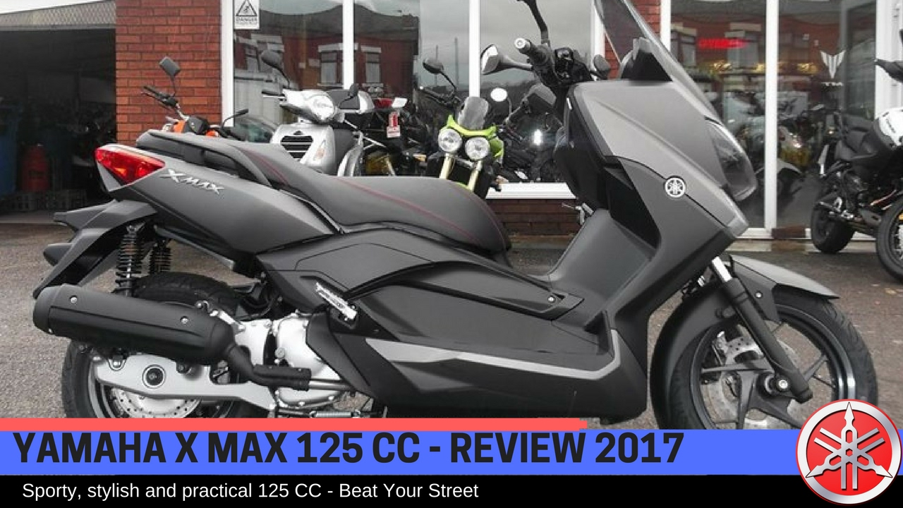 yamaha x max 125 cc review 2017 youtube. Black Bedroom Furniture Sets. Home Design Ideas