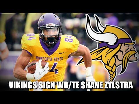 Minnesota Vikings Sign Free Agent WR/TE Shane Zylstra