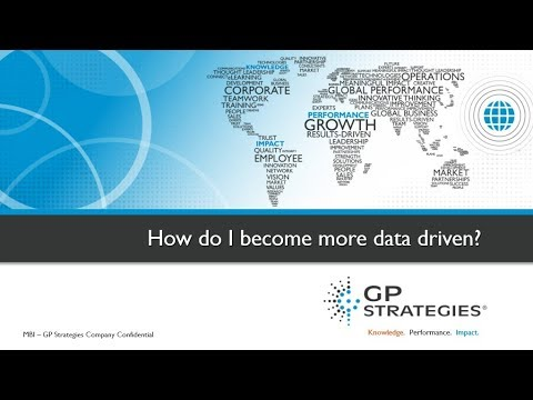 Webinar   How do I become more data driven? Looking at ways to show impact through learning