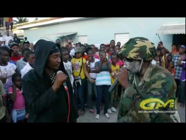 Vybz Kartel Mavado & Buju Banton imitated - Jamaican Comedians Apache&Sarge - AmaziyahTheGreat Films