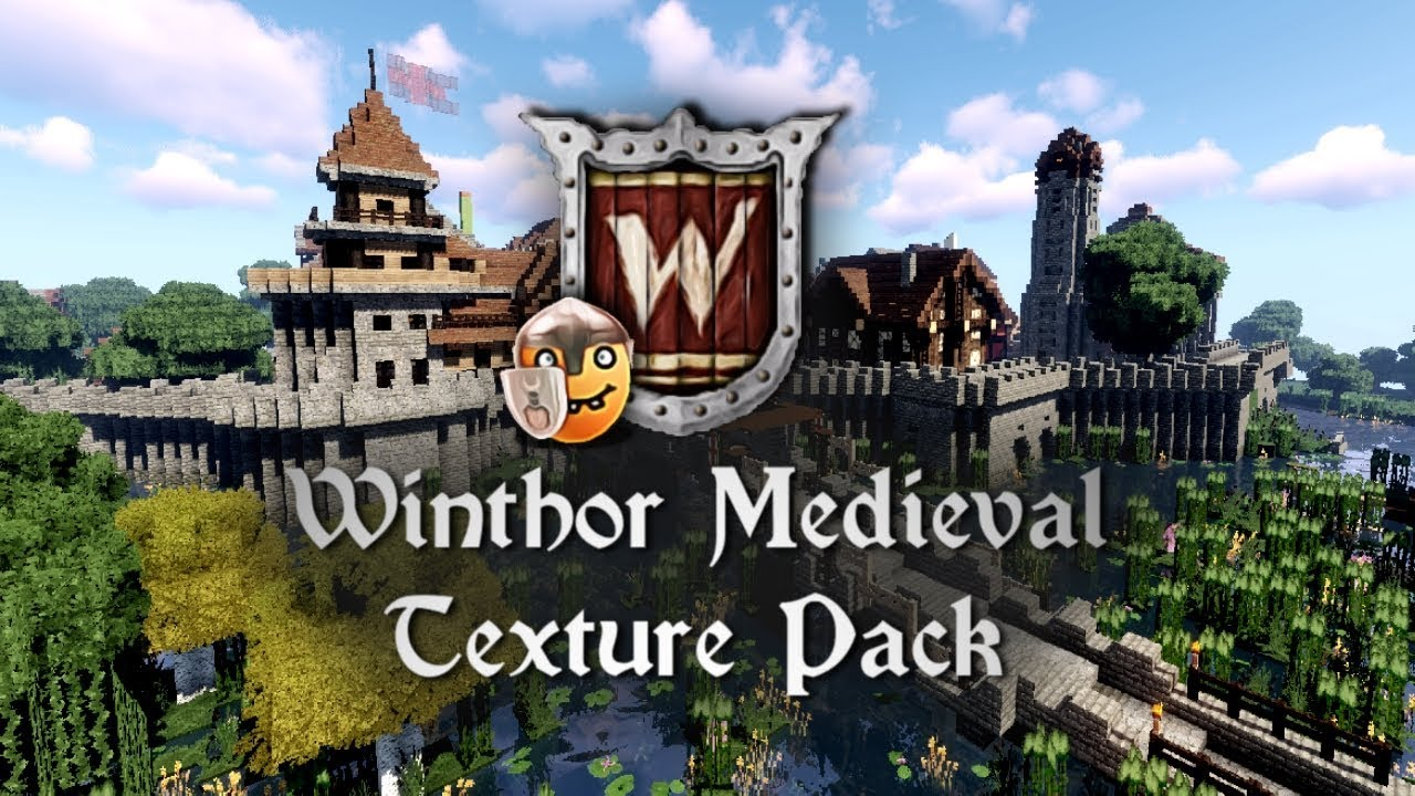 Winthor Medieval Texture Pack Preview Available For Minecraft 1 16 2 Youtube