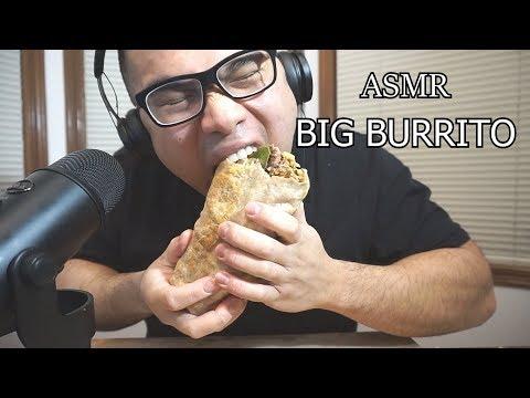 Asmr BIG BURRITO *BIG BITES *NO TALKING