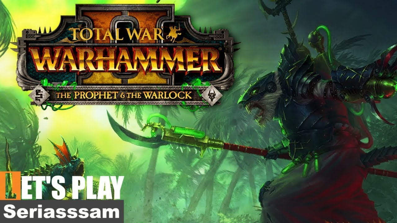 Total War Warhammer 2: The Prophet and the Warlock DLC   Ikit Claw –  Multiplayer Campaign – Part 3