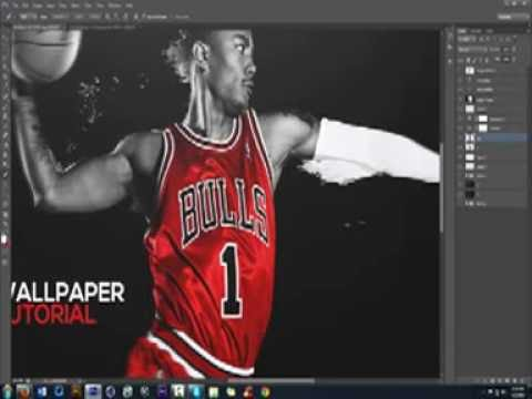 Photoshop How To Creating Advertisement Wallpaper Designs