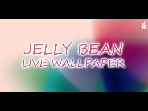 Jelly Bean Live Wallpaper - YouTube
