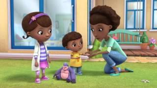 Klinika dla pluszaków - Swędzący brzuszek Glorii. Oglądaj w Disney Junior!