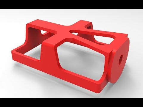 SolidWorks | Разработка Стабилизатора Под GoPro | Короб Под Камеру