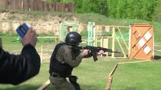 В Твери полицейские ОМОН СОБР спецназ и ФСБ соревновались в стрельбе