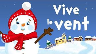 Mix – Vive le vent d'hiver (chanson de Noël pour petits avec paroles)