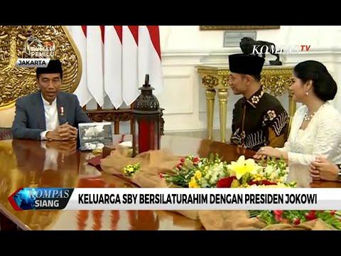Diwakili AHY dan Ibas, Keluarga Yudhoyono Bersilaturahim dengan Presiden Jokowi