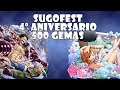 One Piece Treasure Cruise JP | Sugofest 4º Aniversario 500 gemas