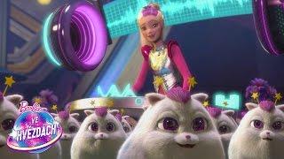 Vystřižené záběry z filmu Barbie™ ve hvězdách   Star Light Adventure   Barbie