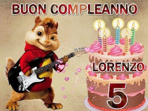 Auguri Buon Compleanno 5 Anni.Buon Compleanno Lorenzo 10 Gennaio Auguri A Te Che Oggi