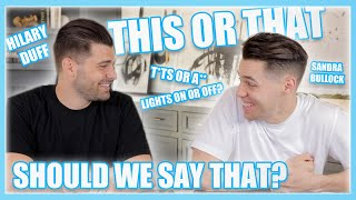 Making Tough Decisions with Steven Perkins | This or That Challenge