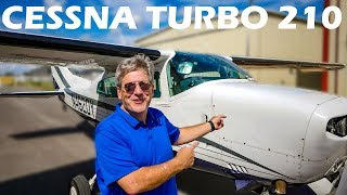 Cessna Turbo 210 Aircraft Flight and Pilot Interview
