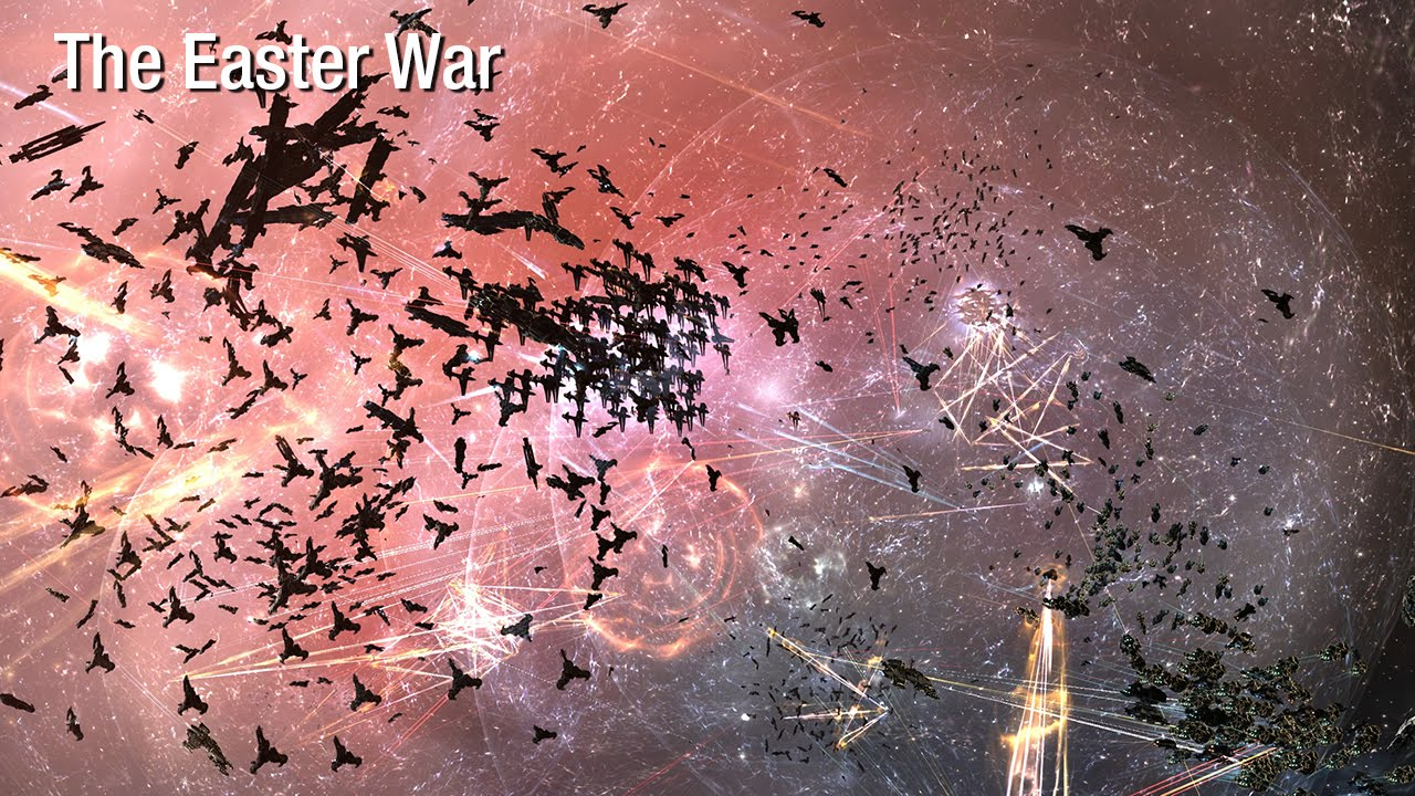 EVE Online's Growing New Great War: the Battle of M-OEE8