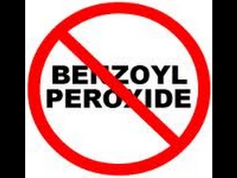 how to know if benzoyl peroxide is working