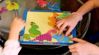 Развивающий набор динозавры Познавательные игры( games dinosaurs)  Funny dinosaur.