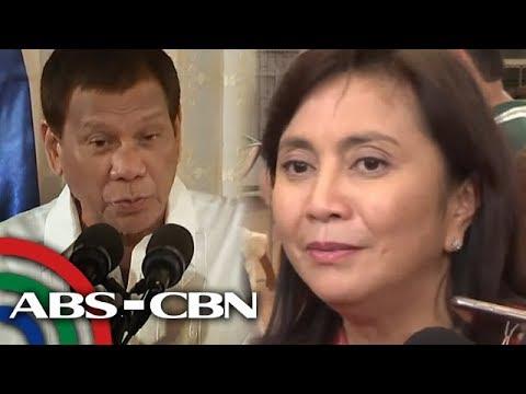 Robredo, ayaw patulan ang hamon ni Duterte | Bandila