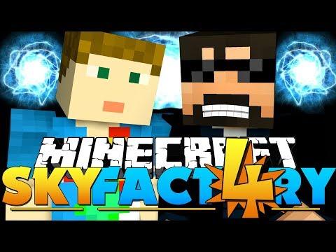 Minecraft: SkyFactory 4 - VERY DANGEROUS REACTORS!! [40]