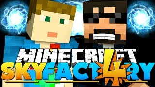 Minecraft: SkyFactory 4 - VERY DANGEROUS REACTORS!! [40]