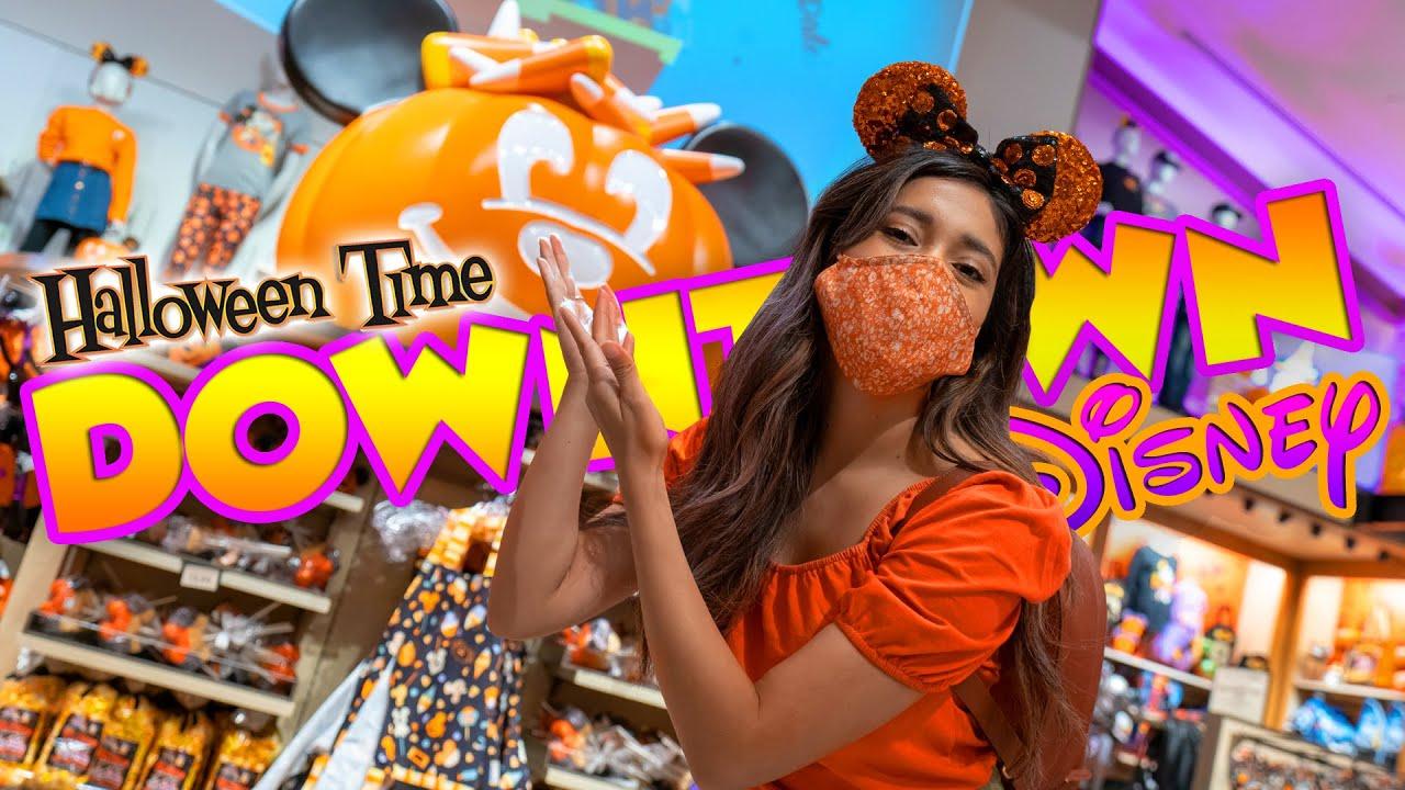 Spooktacular Disney Halloween Time Merch and Treats At Downtown Disney! Disneyland Resort