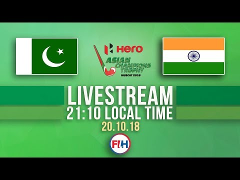 Pakistan V India | Men's 2018 Hero Asian Champions Trophy | FULL MATCH LIVESTREAM