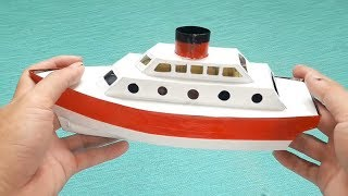 How To Make A Boat Model | Ship Model | Do It Yourself