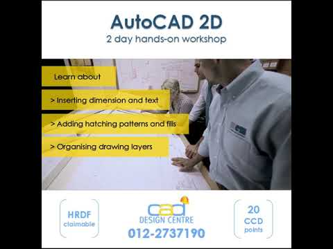 AutoCAD CIDB course | Excel CIDB course | HR Project