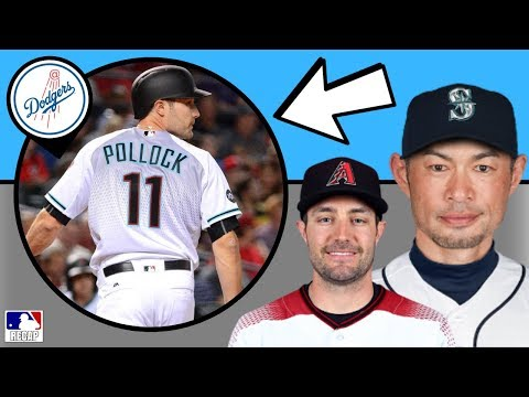 AJ Pollock SIGNS with LA Dodgers + Ichiro is BACK in MLB!?