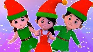 elfes doigt famille | chant de Noël | doigt famille pour enfants | Joyeux Noël | Elves Finger Family