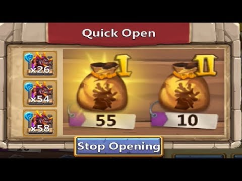 JT's Main ALL Lavanica BAGS Opened AT ONCE + Events Castle Clash