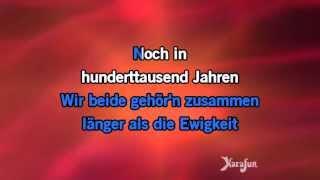Karaoke Noch in 100.000 Jahren - DJ Ötzi *