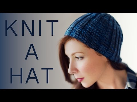 How To Knit Basic Beanie Hat For Beginners