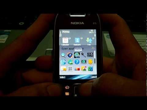 Nokia E75 Multitalking 58 Apps