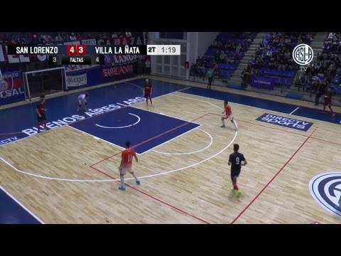 FUTSAL AFA - Fecha 16 - San Lorenzo vs Villa La Ñata