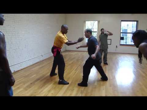 Wing Chun 6 points Drill