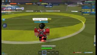 Roblox Euro Soccer l We found a guy who is mad!