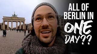 CAN YOU SEE EVERYTHING IN BERLIN IN ONE DAY?? // Berlin, Germany