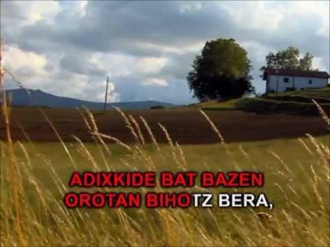 Xalbadoren Heriotzean (Version Karaoke) - Egungoak