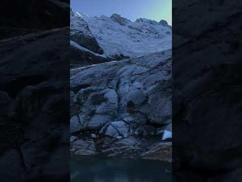 Ледник АЛИБЕК в Домбае