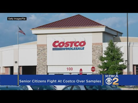 Sandy - Fight Breaks Out At Costco Over Free Samples!