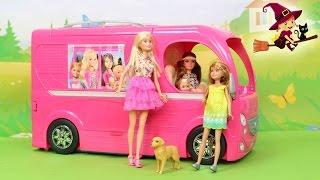 Autocaravana de Barbie el Viaje de Barbie y sus Hermanas al Pueblo Willow thumbnail