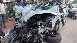 Skoda Octavia RS high speed crash in Kerala his one of the lucky 250 buyers