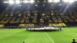 BVB vs. PSG - 18.02.2020 - BVB Choreo - Endergebnis 2:1