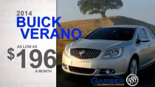 March 2014 Buick Verano Buick Open House Lease Special