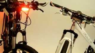 Volt Police Bikes with Vehicle Grade LED lights