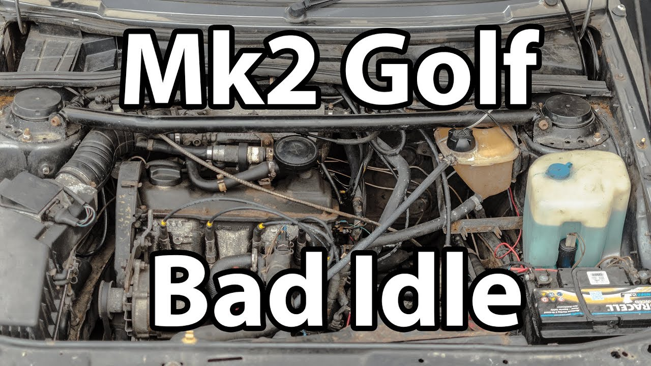 Troubleshooting Golf Mk2 Rough Running