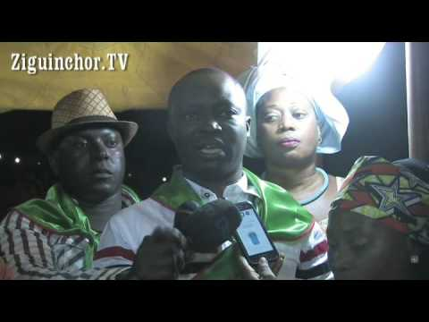 Ziguinchor TV, Parti Socialiste, PS, Meeting Place de Gao, Ousmane Biteye Diouf, SG Coordination PS,