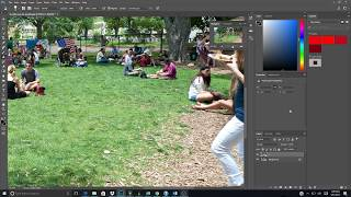 Photoshop CC 0017: How To Use The Clone Stamp Tool